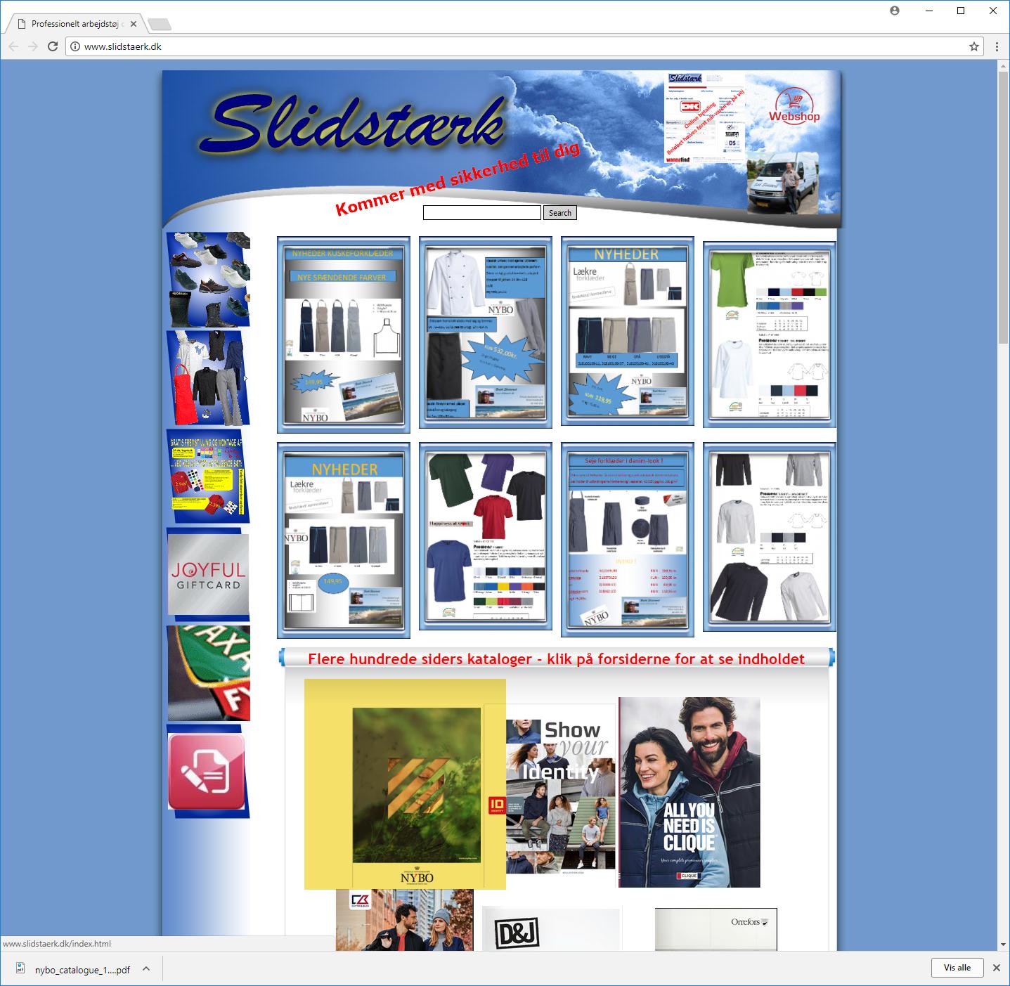 WebSite X5 Help Center - Catalog Viewer     limitations and